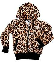 Six Bunnies Leopard Print Hoodie Kids Cool Rockabilly Punk Gift Fun Light Cute