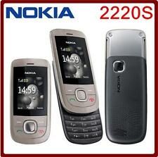 Original Nokia 2220 2220S slide Mobile Phone GSM mp3 player GSM 900 / 1800