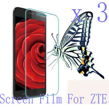 3 Glossy Matte Screen Protector Film Cover Skin Shell Pouch For ZTE Mobile Phone
