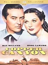 COPPER CANYON DVD (1950) Ray Milland Hedy Lamarr
