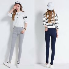 Women Skinny Slim Jeggings Stretch Candy Pencil Pants Leggings Trousers  A96