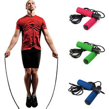 Aerobic Exercise Skipping Jump Rope Adjustable Bearing Speed Fitness Jump Ropes