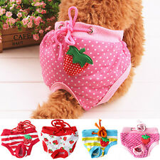 Female Pet Dog Puppy Diaper Pants Physiological Sanitary Short Nappy Dreamed