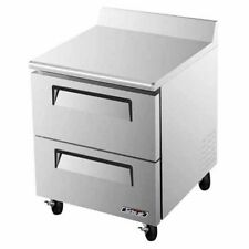 Turbo Air TWF-28SD-D2, 2 Drawers Worktop Freezer