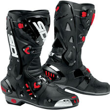 SIDI VORTICE AIR BLACK/BLACK MOTORCYCLE SPORTS BOOTS