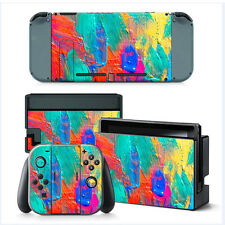 Wrap Skin Sticker Decal Dust Cover for Nintendo Switch Console &Joy-con