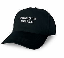 BEWARE OF THE TIME POLICE PERSONALISED BASEBALL CAP TIME POLICE XMAS GIFT CUSTOM