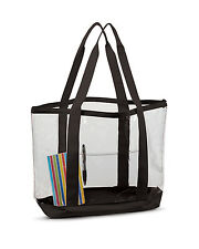 7009 Liberty Bags Unisex Adult Promo Tote Large Clear Tote NEW