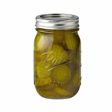 Ball Vintage Quart Canning Mason Jars Regular Mouth Pint 16 oz 12-per-Pack