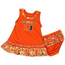 University of Miami Hurricanes Infant Fountain Dress Set
