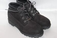TIMBERLAND Womens Waterproof Black Suede Leather Hiking Work Ankle Boot Sz 8
