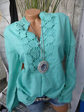 Joe Browns Tunic Tunic Blouse gr. 40 Bis 58 with Lace (646) vokuhia