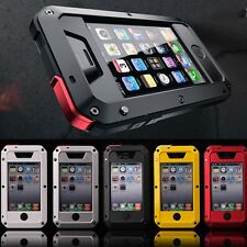 IPhone Samsung 4 5 6 7+,Shockproof Waterproof heavy duty Bumper Metal Cover Case
