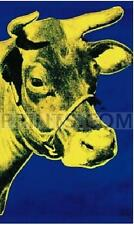 Andy Warhol Cow Yellow NO LONGER IN PRINT - LAST ONES!!