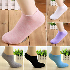 Lady 1 Pair Candy Color Ankle Socks Short Low Cut Crew Sports Boat Socks Cheaply
