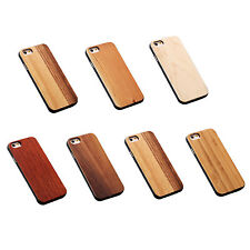 Real Wooden Case Wood + Hard PC For iPhone G8X9