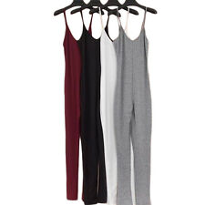 1Pcs Sexy Fashion 2017 Jumpsuit New V-Neck Summer Womens Cotton Casual Rompers
