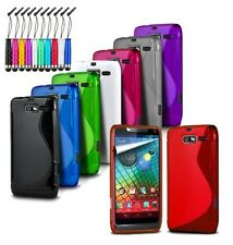for Vodafone Smart First 7 - Wave S-Line Gel Silicone Case Cover & Mini Pen