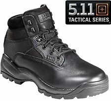"""5.11 Tactical Mens Black ATAC 6"""" Field Duty Work Boots-  Military & Police"""