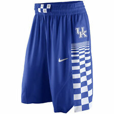 Nike Kentucky Wildcats Authentic On Court Mens Basketball Shorts Blue White