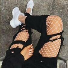 Womens Net Fishnet Bodystockings Pattern Pantyhose Tights Breathable Stockings