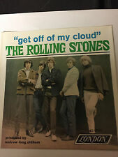Rolling Stones 45 rpm record sleeve - Get Off My Cloud