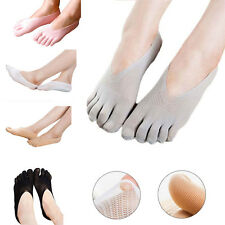 Beauty Womens Five Finger Toes Invisible Nonslip Ankle Cotton Blend Socks 1Pair