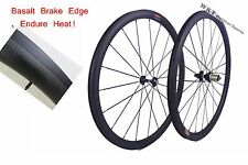 25mm width 38mm clincher carbon wheelset 700C road bicycle full carbon clincher