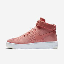 WMNS Nike AF1 Flyknit [818018-802] NSW Casual Air Force 1 Bright Melon/White