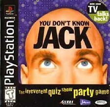 You Don't Know Jack Sony PlayStation 1