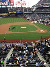 2 NEW YORK METS vs SF GIANTS TICKETS SECTION 327 ROW 6 5/9/17