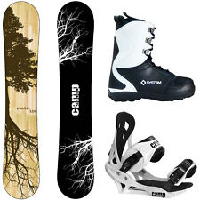 NEW 2017 Camp Seven Roots CRC and APX Men's Complete Snowboard Package