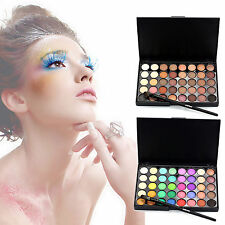 Pro 40colors Eye Shadow Cosmetic Makeup Shimmer Matte Eyeshadow Palette Set Kit