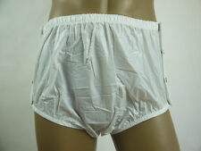 ADULT BABY SNAP ON PLASTIC PANTS  Incontinence New #P004-1