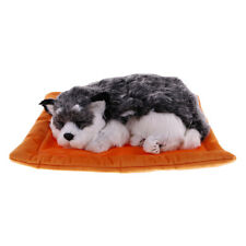 Snoring Kitten Puppy Soft Toy Stuffed Animal Kids Toys Gift Ornament Home Decor