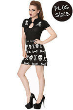 Banned The After Life PLUS SIZE Womens Alternative Knitted Mini Dress