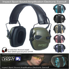 Howard Leight Impact Sport Shooting Noise Ear Protection Earmuff -Honeywell