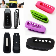 Silicone Rubber Replacement Clip Belt Holder Case For Fitbit One Smart Tracker