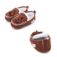 Hot Baby Shoes Boots Moccasins Princess Suede  Winter Newborn  Pu Leather  New