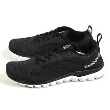 Reebok Sublite Authentic 4.0 Lightweight Running Shoes Black/White/Silver BS7106
