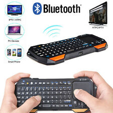 3 in 1 Wireless Mini Portable Remote Bluetooth Keyboard w/ Multi-Touch Pad Mouse