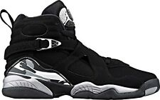 Nike Air Jordan 8 Retro BG Youth Y Size Black White Graphite Chrome 305368 003