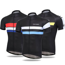 Uriah Mens Bicycle Shirt Jersey Mountain Bike Jersey Full Zip Cycling Jersey