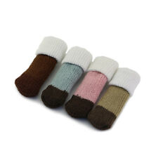 Elegant Table Chair Foot Leg Knit Cover Protector Socks Sleeve Protect Floor Lot