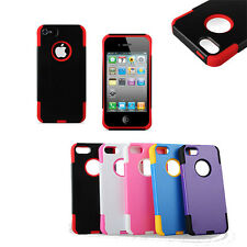 Prime Hybrid Rubber Silicone Hard Case Cover For Apple iPhone 5
