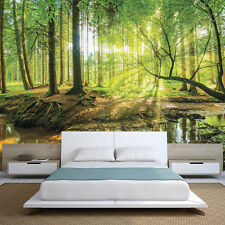 Giant FOREST Wood Trees Wall Mural Photo Wallpaper Picture Living Room Bedroom