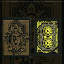 Angry God of Wealth Deck of playing cards by Nanswer