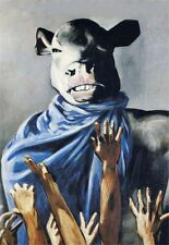 Francis Picabia Dadaismo Handcraft Animal Oil Painting on Canvas 24x36 No Frame