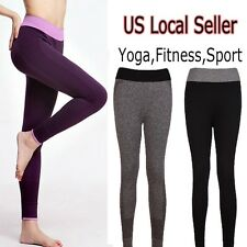 Woman Sports Gym Yoga Fitness Leggings Pants Athletic Clothes Stretch Sexy USA