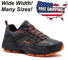 Avia US Shoe Sizes Mens Walking Running Athletic Wide Width Grey Comfort Sneaker